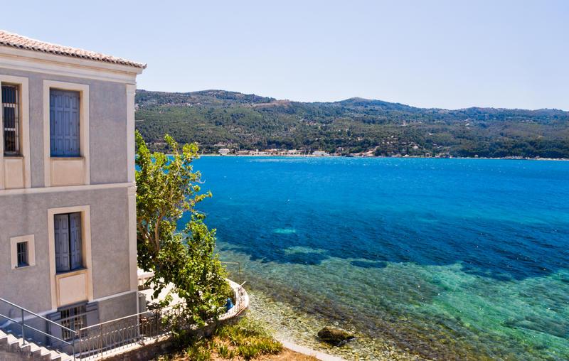 Opprinnelig Hus på stranden på ön Samos - Bilder från Grekland - Reser.se ID-42