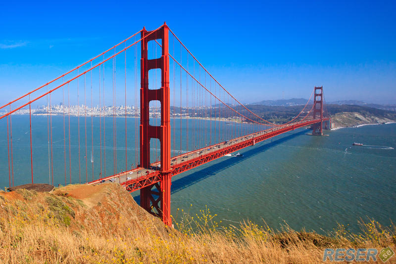 Golden Gate-bron i San Francisco, USA