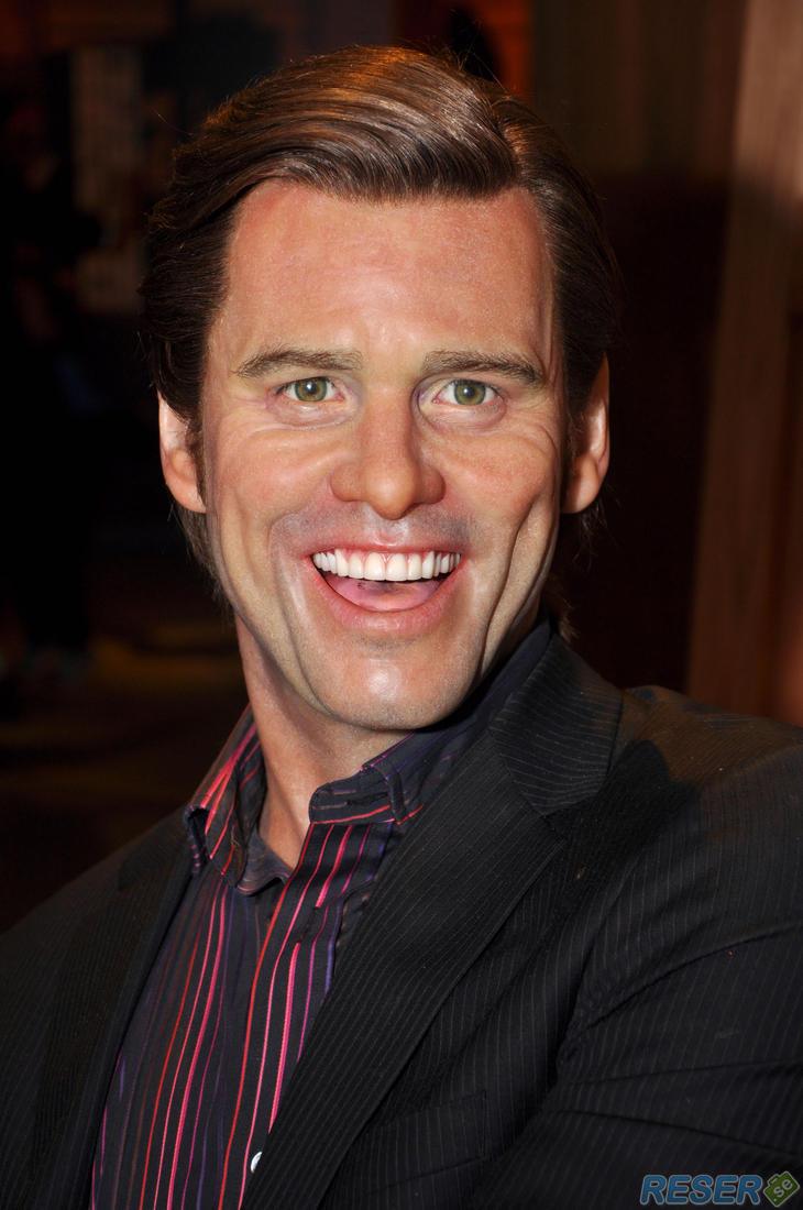 Vaxstaty av Jim Carrey i Hollywood, LA - Bilder från USA ... Jim Carrey