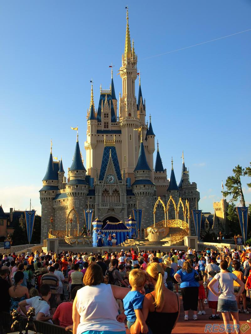 walt disney world i orlando, florida - världens största nöjespark